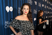 Katie Lowes Off-the-Shoulder Dress
