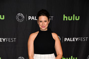 Katie Lowes Satin Clutch