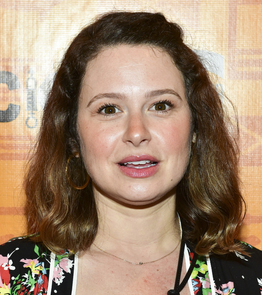 Katie Lowes Half Up Half Down [kirk douglas theatre hosts opening night performance of ``quack,hair,face,eyebrow,hairstyle,chin,lip,forehead,brown hair,long hair,layered hair,kirk douglas theatre hosts opening night performance of ``quack,katie lowes,culver city,california,kirk douglas theatre,center theatre group]