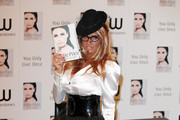 Katie Price Launches her new book, 'You Only Live Once' at Waterstones Piccadilly on October 28, 2010 in London, England.