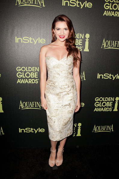 Katie Stevens Strapless Dress