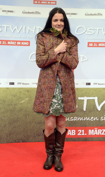 Katja von Garnier Tweed Coat