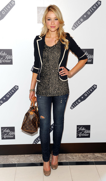 Katrina Bowden Leather Tote