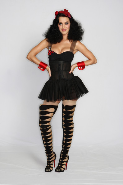 Katy Perry Corset Dress [show,fashion model,costume,tights,model,corset,girl,latex clothing,joint,photo shoot,katy perry,mtv europe music awards,berlin,mtv]