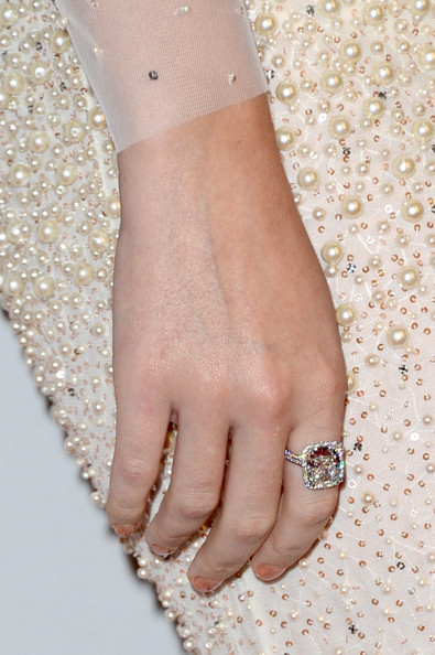 Katy Perry Diamond Ring [nail,finger,hand,body jewelry,jewellery,fashion accessory,bracelet,beige,wrist,peach,clive davis,katy perry,antonio ``l.a. reid,fashion detail,the beverly hilton hotel,beverly hills,california,the recording academy,antonio ``l.a. reid - arrivals,2013 pre-grammy gala and salute to industry icons]