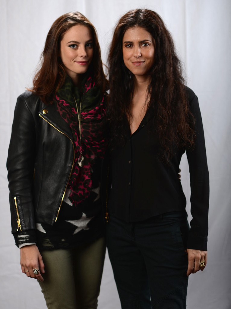 Kaya Scodelario Leather Jacket January 2017