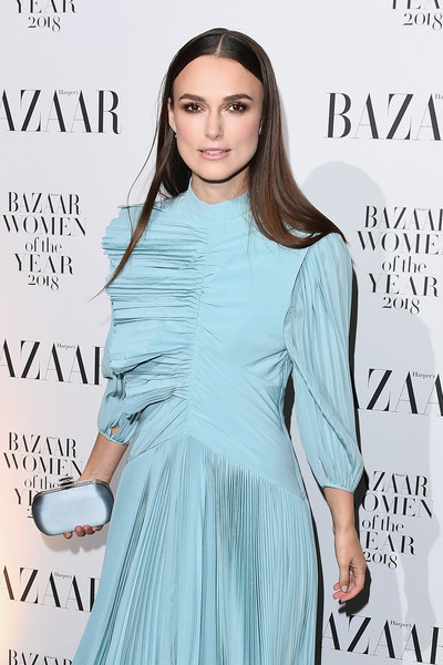 Keira Knightley Satin Clutch