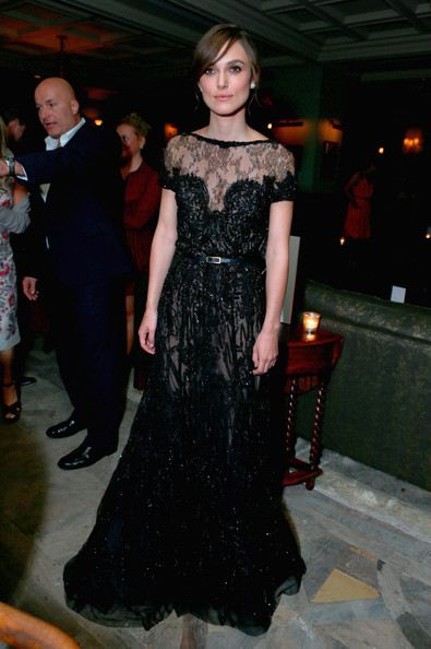 Keira Knightley Beaded Dress
