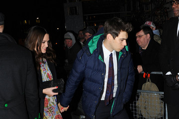 Keira Knightley James Righton Charles Finch & CHANEL Pre-BAFTA Dinner - Arrivals