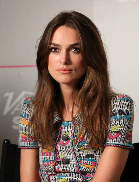 Keira Knightley Long Center Part