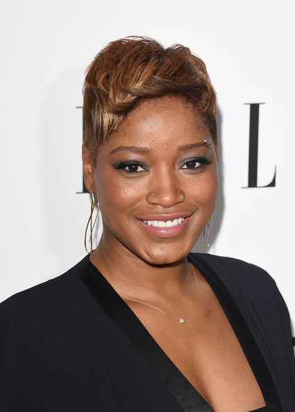 Keke Palmer Fauxhawk [hair,face,hairstyle,eyebrow,forehead,chin,beauty,lip,blond,smile,keke palmer,annual women in television celebration,hearts on fire,arrivals,california,sunset tower,west hollywood,elle,olay,annual women in television celebration]
