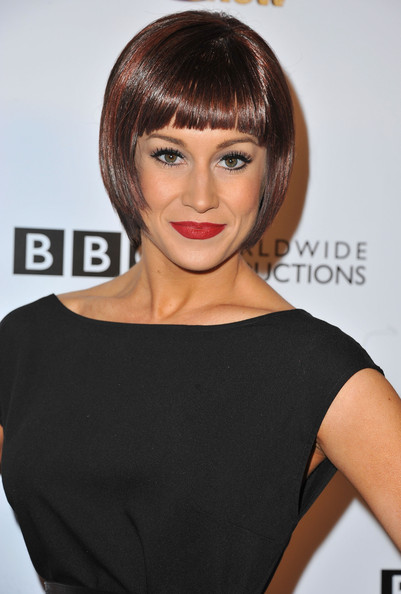 Kellie Pickler Red Lipstick [dancing with the stars,hair,face,hairstyle,eyebrow,bangs,chin,shoulder,beauty,brown hair,lip,kellie pickler,california,hollywood,abc,episode celebration,boulevard3]