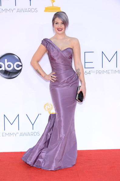 Kelly Osbourne One Shoulder Dress