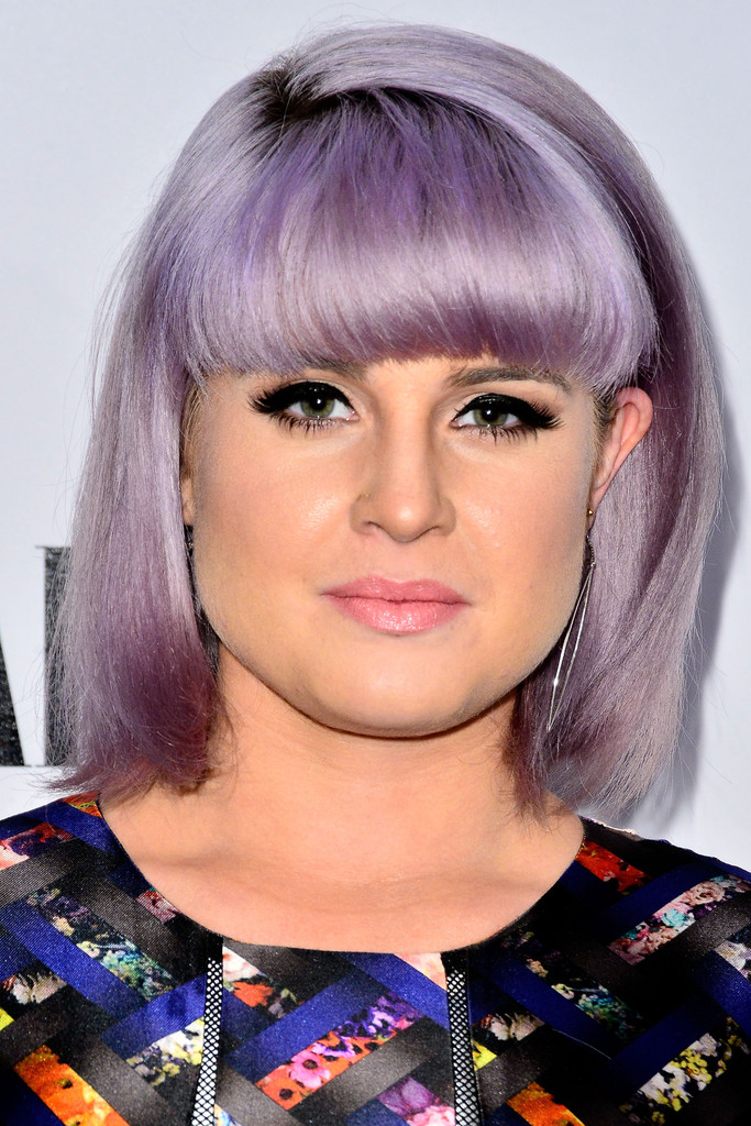 kelly osbourne short cut with bangs short hairstyles