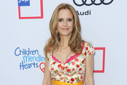 Kelly Preston Print Dress