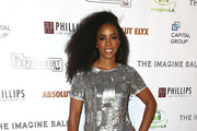 Kelly Rowland Embellished Top