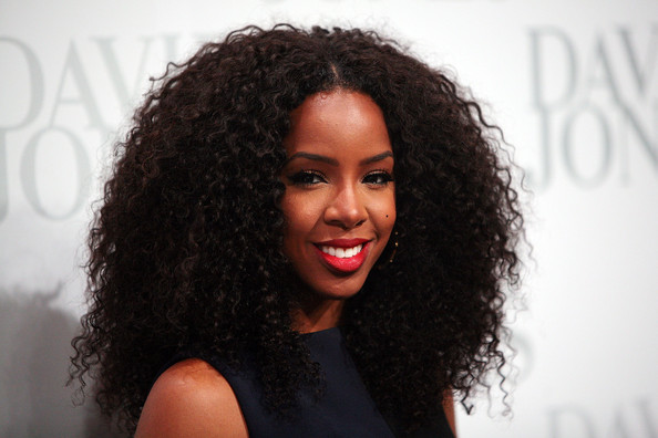 Kelly Rowland Long Curls