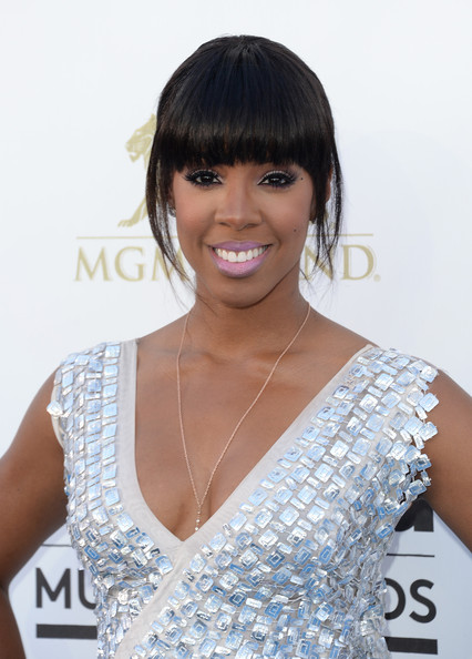 Kelly Rowland Bright Lipstick