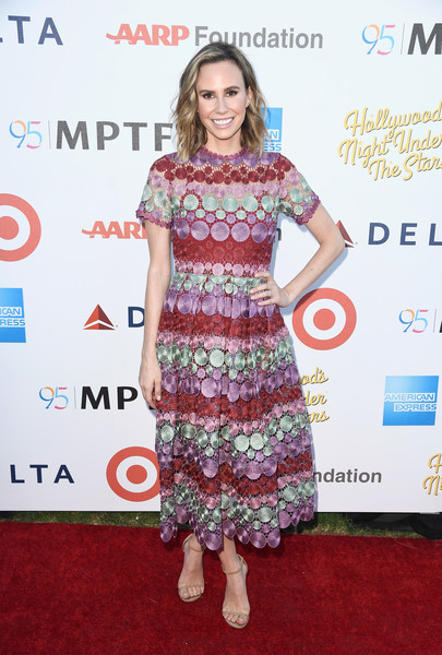 Keltie Knight Embroidered Dress