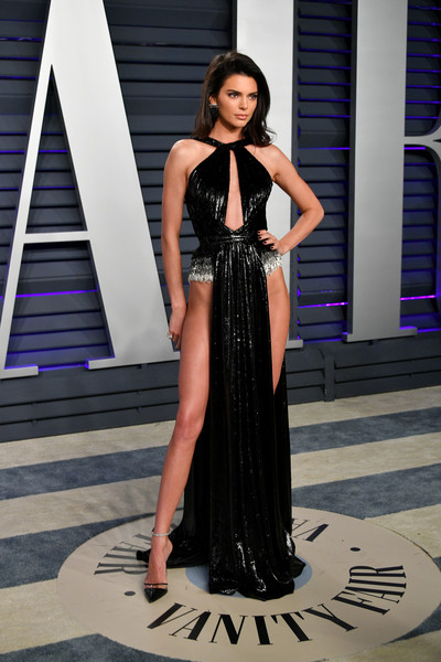 Kendall Jenner Cutout Dress [fashion model,clothing,dress,fashion,shoulder,gown,haute couture,beauty,lady,formal wear,kendall jenner,radhika jones - arrivals,fashion model,fashion,academy awards,celebrity,afterparty,oscar party,vanity fair,party,kendall jenner,91st academy awards,academy awards,oscar party,party,model,vanity fair,celebrity,afterparty]