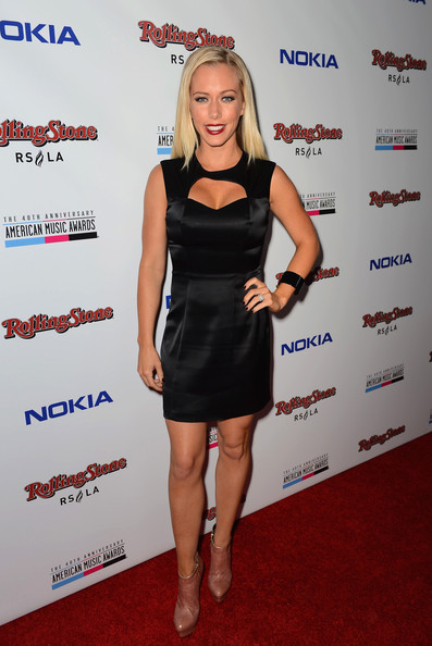 Kendra Wilkinson Cutout Dress