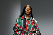Naomi Campbell Shirtdress