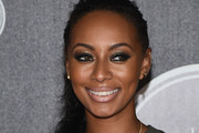 Keri Hilson Long Braided Hairstyle