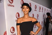 Keri Hilson Off-the-Shoulder Top