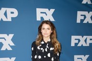 Keri Russell Pussybow Blouse