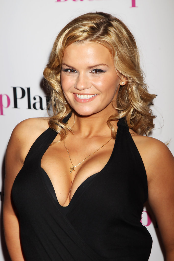 Kerry Katona Medium Curls Shoulder Length Hairstyles