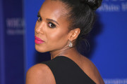 Kerry Washington Braided Bun