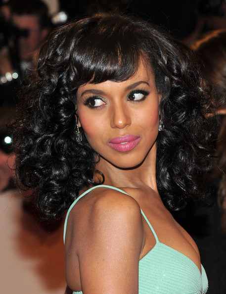 Kerry Washington Dangling Diamond Earrings