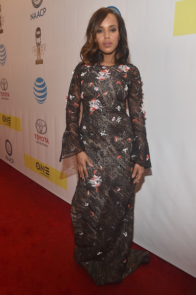 Kerry Washington Lace Dress