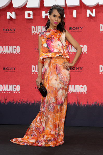 Kerry Washington Print Dress Kerry Washington Looks