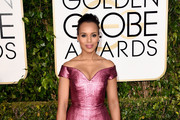 Kerry Washington Off-the-Shoulder Dress