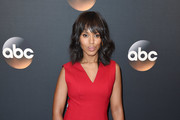 Kerry Washington Suede Clutch