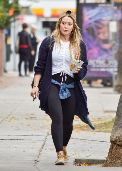 More Pics of Hilary Duff Cardigan (1 of 8) - Cardigan Lookbook - StyleBistro