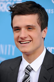 Josh was all smiles at the premiere of 'The Kids Are All Right'.