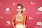 Kiernan Shipka Cutout Dress