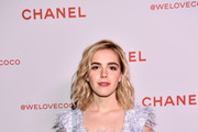 Kiernan Shipka Fringed Dress