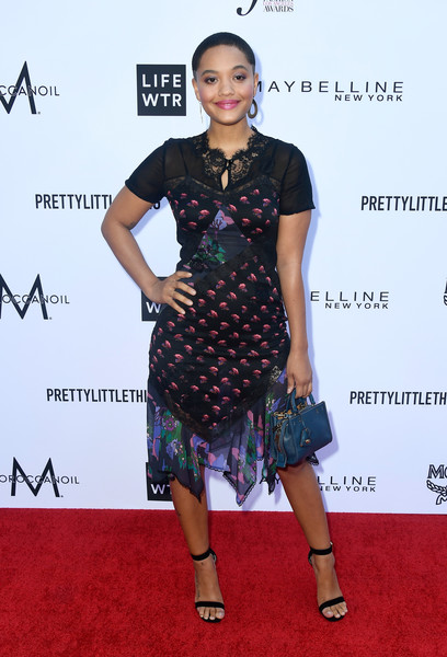 Kiersey Clemons Leather Purse [clothing,red carpet,dress,fashion model,carpet,fashion,cocktail dress,footwear,flooring,premiere,arrivals,kiersey clemons,beverly hills hotel,california,daily front row,the daily front row,4th annual fashion los angeles awards]