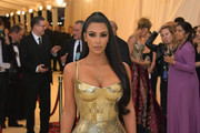 Kim Kardashian Form-Fitting Dress