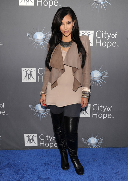 Kim Kardashian Leather Jacket