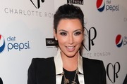 Kim Kardashian Chats Fashion Week at Charlotte Ronson's Fall Show