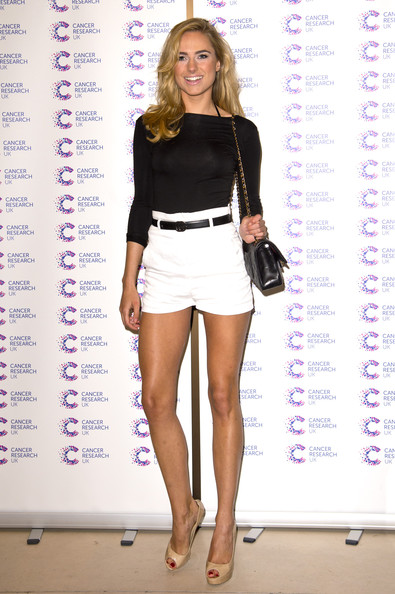 Kimberley Garner High-Waisted Shorts