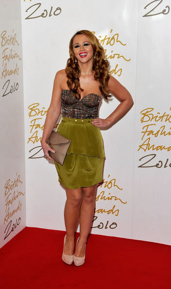 Kimberley Walsh Knee Length Skirt