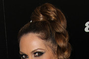 Kimberly Cole Long Braided Hairstyle