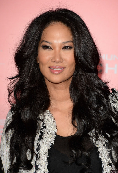 Kimora Lee Simmons Long Wavy Cut
