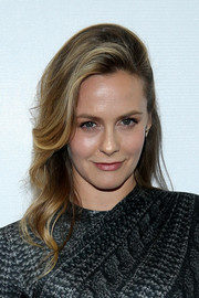 Alicia Silverstone wore her tresses down in a soft wavy style during the Tribeca Film Fest premiere of 'King Cobra.'