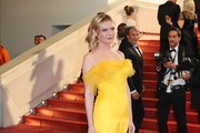 Kirsten Dunst Fishtail Dress